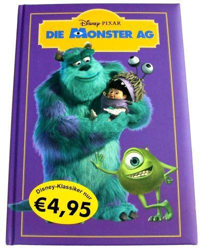 buch zum film die monster ag disney klassiker pixar. Black Bedroom Furniture Sets. Home Design Ideas