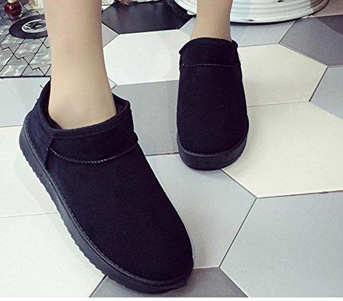 Schwangere Frauen lädt flache Schuhe schlüpfen nach Hause warme Schuhe Short Stiefel Schneeschuhe Schuhe Student stellt Fuß