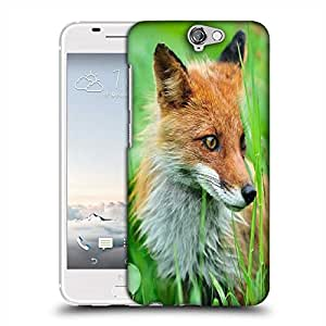 Snoogg Small Fox Designer Protective Phone Back Case Cover For HTC one A9