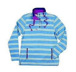 Shauna Ladies Womens Sweatshirt Sweater Top With Pockets - Tayberry