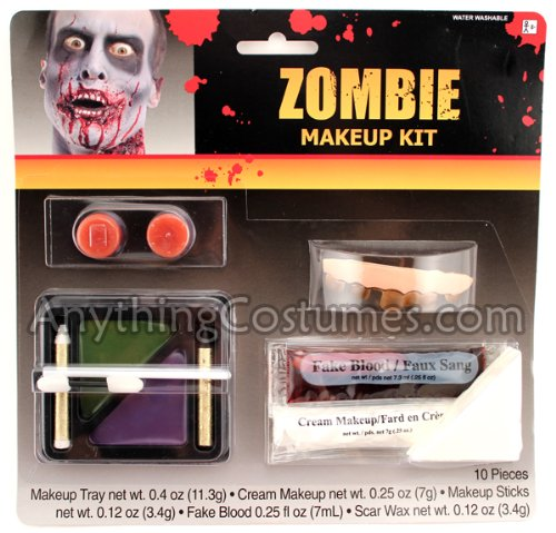 Zombie Makeup Kit Adult Accessory