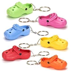Amazon.com: Mini Crocs (Rubber Slipper) Shoe Keychain: Toys & Games