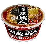 日清 麺職人醤油 カップ 91g