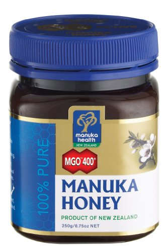 Active MGO 400+ (Old 20+) Manuka Honey 100% Pure by Manuka Health New Zealand Ltd. - 8.75 oz jar