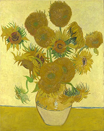 Oil Painting 'Vincent Van Gogh - Sunflowers,1888', 30 x 38 inch / 76 x 96 cm , on High Definition HD canvas prints is for Gifts And Hallway, Kitchen And Nursery Decoration, easy