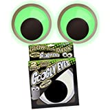 Giant Googly Eyes - Glow in the Dark Set of 2