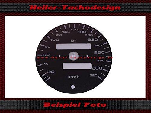 Tachoscheibe Porsche 911 964 993 Schalter 320 Km/h