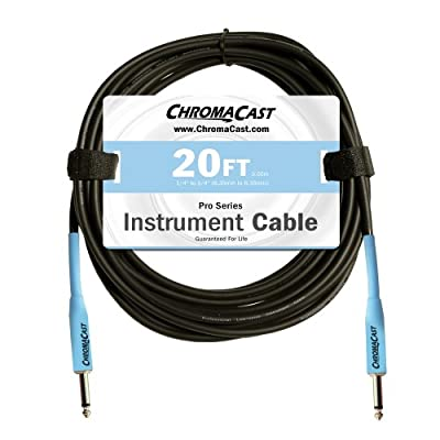 ChromaCast Pro Series Instrument Cables Straight Ends CC-PSCBLSS from ChromaCast