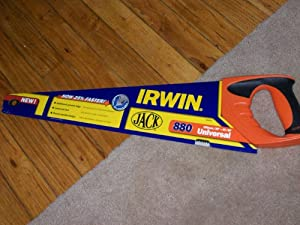 "Jack 500 mm/20"" 8t/9p Universal 880 Hand Saw by Irwin"
