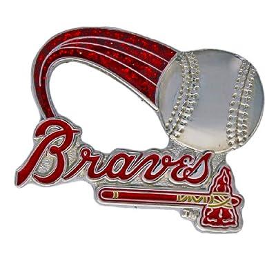 MLB Atlanta Braves Glitter Trail Pin