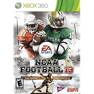 NCAA Football 13 XBox 360 Video Game