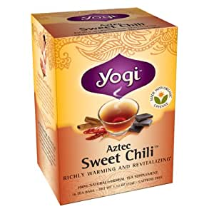 Yogi Aztec Sweet Chili Tea Amazon Com Grocery Amp Gourmet Food