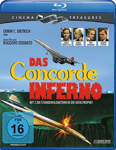 Das Concorde Inferno [Blu-ray]