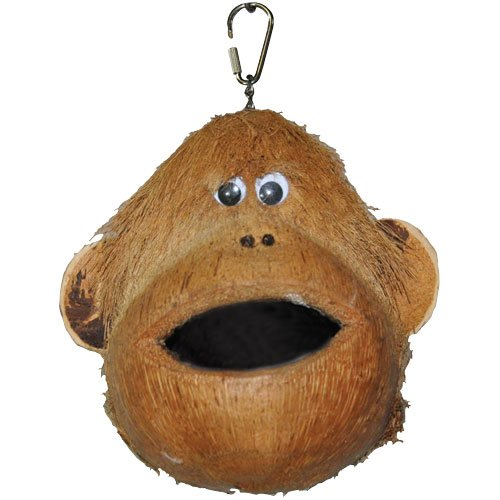 Cheap Happy Beaks Coco Monkey Bird Toy (HB46581)