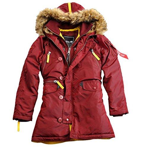 Alpha Ind. Frauen-Jacke PPS N3B Wmn – burgundy online bestellen