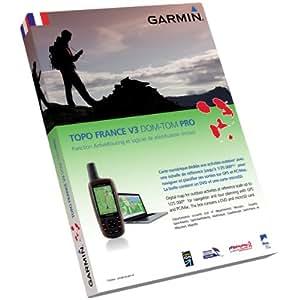 Garmin Topo France v3 DOM-TOM Pro Cartes de randonnée numériques