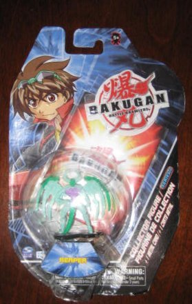 Bakugan Battle Brawlers Collector Figure Series 1 Reaper - 1