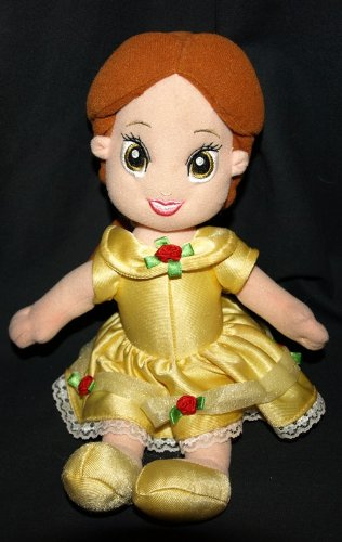 Fisher Price Disney Beauty And The Beast Belle Plush - 1