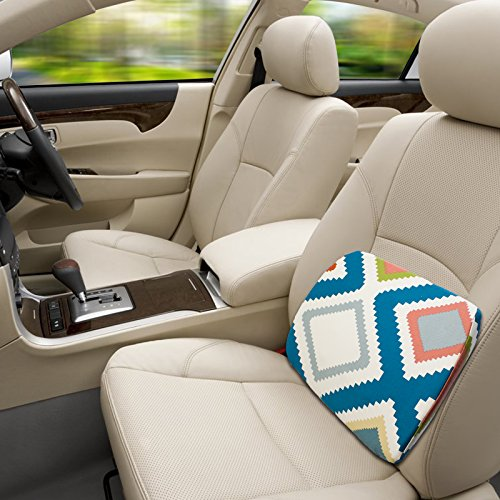 GiGi Memory Foam Car Office Seat Cushion&Traveling Neck Pillow, Great for Truck Driver
