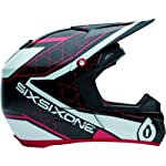SixSixOne 661 Helmet Fenix Grid Red Adult XXL 2XL