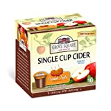 Grove Square Caramel Apple Cider, Sugar Free, 18-Count Single Serve Cup for Keurig K-Cup Brewers (Pack of 3)