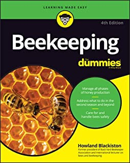Book Cover: Beekeeping For Dummies