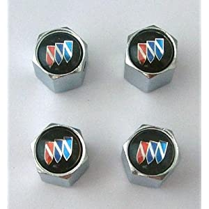 Buick Anti-theft Car Wheel Tire Valve Stem Caps