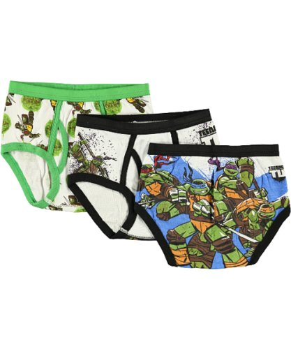 TMNT Little Boys Briefs - 3 Pack