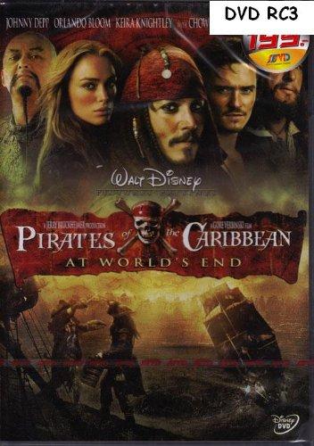 Pirates Of The Caribbean: At World'S End Dvd Rc3 Language:English,Hindi,Thai Subtitles : English, Thai, Indonesian, Chinese, Malay, Hindi, Korean (2007)