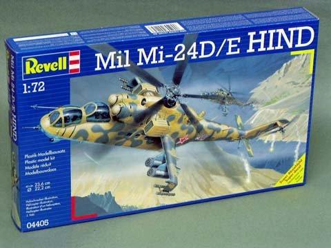 1/72 Mil Mi-24D/E ハインド