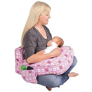 Amazon Com Ease Back Nursing Pillow Color Pink Breast