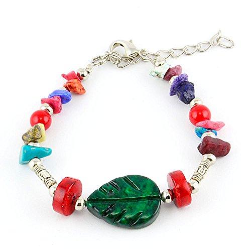 braccialetto-per-charm-snodato-gioiello-etnico-foglio-multicolore-mida-regalo-donna-a-piccolo-prezzo