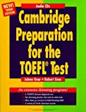 echange, troc Jolene Gear - Cambridge Preparation for the TOEFL Test, 4 Audio-CDs (Livre en allemand)