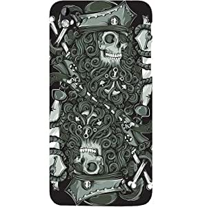 Casotec Skeleton Pattern Design Hard Back Case Cover for HTC Desire 816