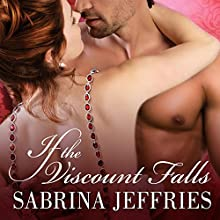 If the Viscount Falls: Duke's Men, Book 4 (       UNABRIDGED) by Sabrina Jeffries Narrated by Corrie James