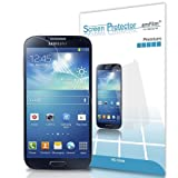 amFilm Samsung Galaxy S4 I9500 Screen Protector Premium HD Clear (Invisible) (3-Pack) [Lifetime Warranty]