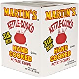 Martins Kettle Cooked Potato Chips, Hand Cooked (3 Lb. Box)