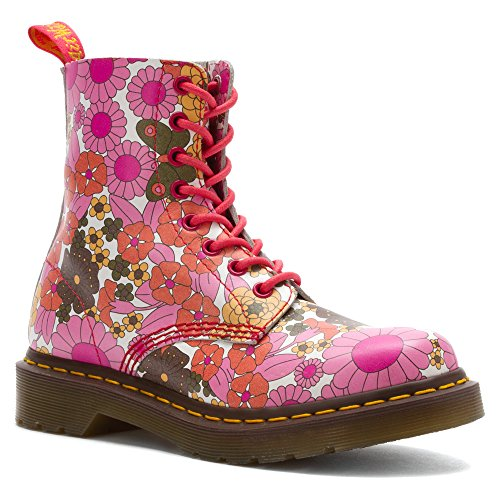 Dr. Martens Women's Pascal Leather,Pink,4 UK/6 M US