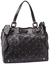 Hot Sale Juicy Couture Frankie Daydreamer YHRU3512 Shoulder Bag,Black,One Size