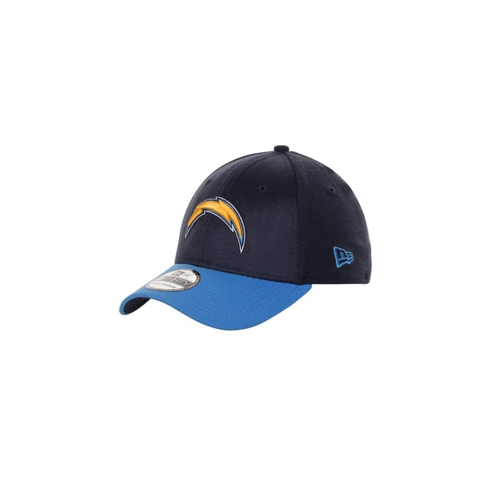 New Era San Diego Chargers TD Classic 39THIRTY Hat   Navy Blue/Light Blue