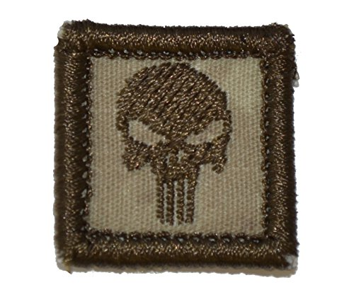Punisher Skull 1x1 inch Military Patch / Morale Patch - Multiple Colors (Atacs AU) (Devgru Cap compare prices)