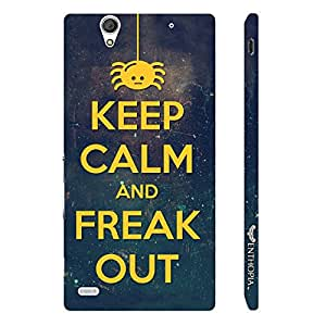 Sony Xperia C4 FREAK OUT designer mobile hard shell case by Enthopia
