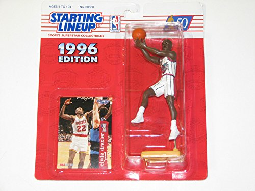 1996 NBA Starting Lineup - Clyde Drexler - Houston Rockets