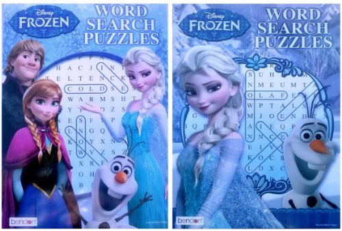 Disney Frozen Word Search Puzzles Book - 1