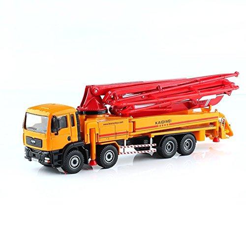 1-55-Legierung-Rutsche-Spielzeug-Modelle-Baufahrzeuge-Betonpumpe-LKW-Modell-Lernspielzeug