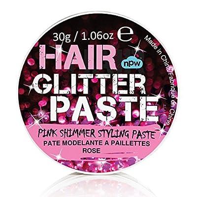 NPW Pink Shimmer Hair Glitter Styling Paste