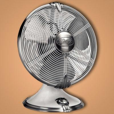 Hunter AirMax Rockefeller Art Deco Style High Performance Oscillating Fan 90046