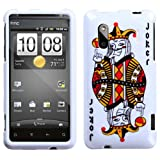 MYBAT HTCHERO4GHPCIM934NP Slim and Stylish Protective Case for HTC EVO Design 4G/Hero S - 1 Pack - Retail Packaging - Joker Playing Card