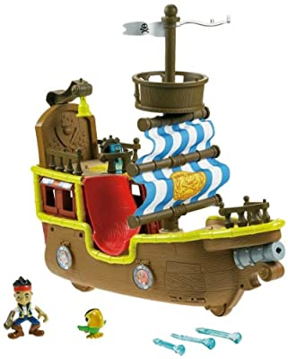 Fisher-Price Disney's Jake and The Never Land Pirates - Jake's Musical Pirate Ship Bucky by Fisher-Price