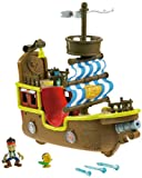 Fisher-Price Disneys Jake and The Never Land Pirates - Jakes Musical Pirate Ship Bucky